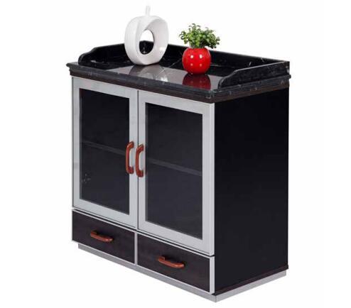 茶水柜 LJ-7819A(黑色天然大理石面)